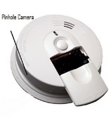 Self Recording DVR 20 Hour Battery Smoke Detector Side View Spy Nanny Ca... - €359,04 EUR