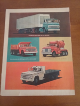 Vintage 1965 Chevrolet Truck Life Magazine Ad - $9.95