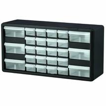 Akro-Mils 10126 26 Drawer Plastic Parts Storage Hardware and (Black/Black) - $38.91