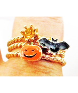FREE Haunted 3 rings 3X HALLOWED FORCES MAGICK HALLOWEEN Witch Cassia4 - $0.00