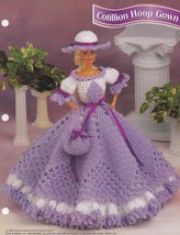 Cotillion Hoop Gown, Annie's Doll Clothes Croch... - $2.95
