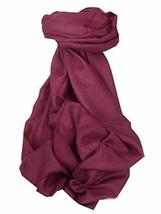 Pashtoosh Luxury Cashmere Shawl Plum by Pashmina & Silk - €260,80 EUR