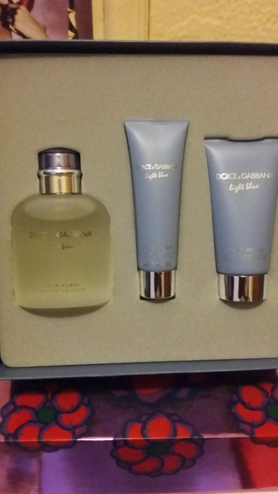 Dolce & Gabbana Light Blue Pour Homme Cologne 3 Pcs Gift Set