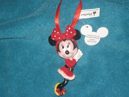 DISNEY PARKS CHRISTMAS ORNAMENT Minnie Mouse. B... - $18.76