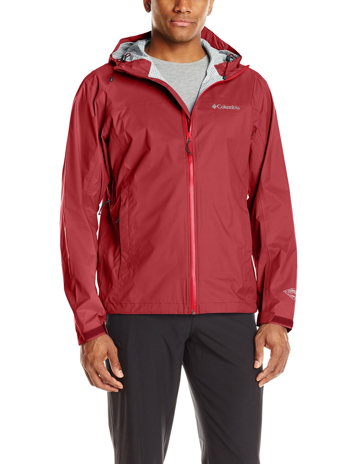 Columbia Men's Evapouration Jacket, Red Element, Medium