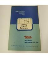 EICO Model 315 Signal Generator  Instruction Manual (a14) - $7.92