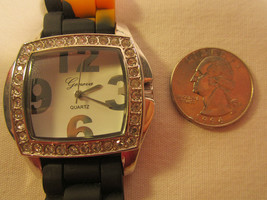 *Working* Electric Analog Women's Wristwatch Geneva Quartz [h12c1] - $14.40