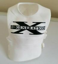 Rare White DX Shirt Vest - Mattel Accessory for WWE Wrestling Figures - $8.85