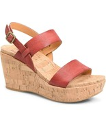 KORK-EASE Austin Cork Wedge Sandals sz 10 M New - $52.06