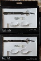 2 Pack!!! MUA Makeup Academy Natural Ultra Fine Lash Kit Eyelash Kit - $9.89