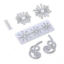 Stamen Flowers Die Set. Elizabeth Craft Designs image 2