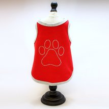 Alphadog Series Paw Rhinestone Tank top T-Shirt for your Dog or Cat (M, ... - $7.99