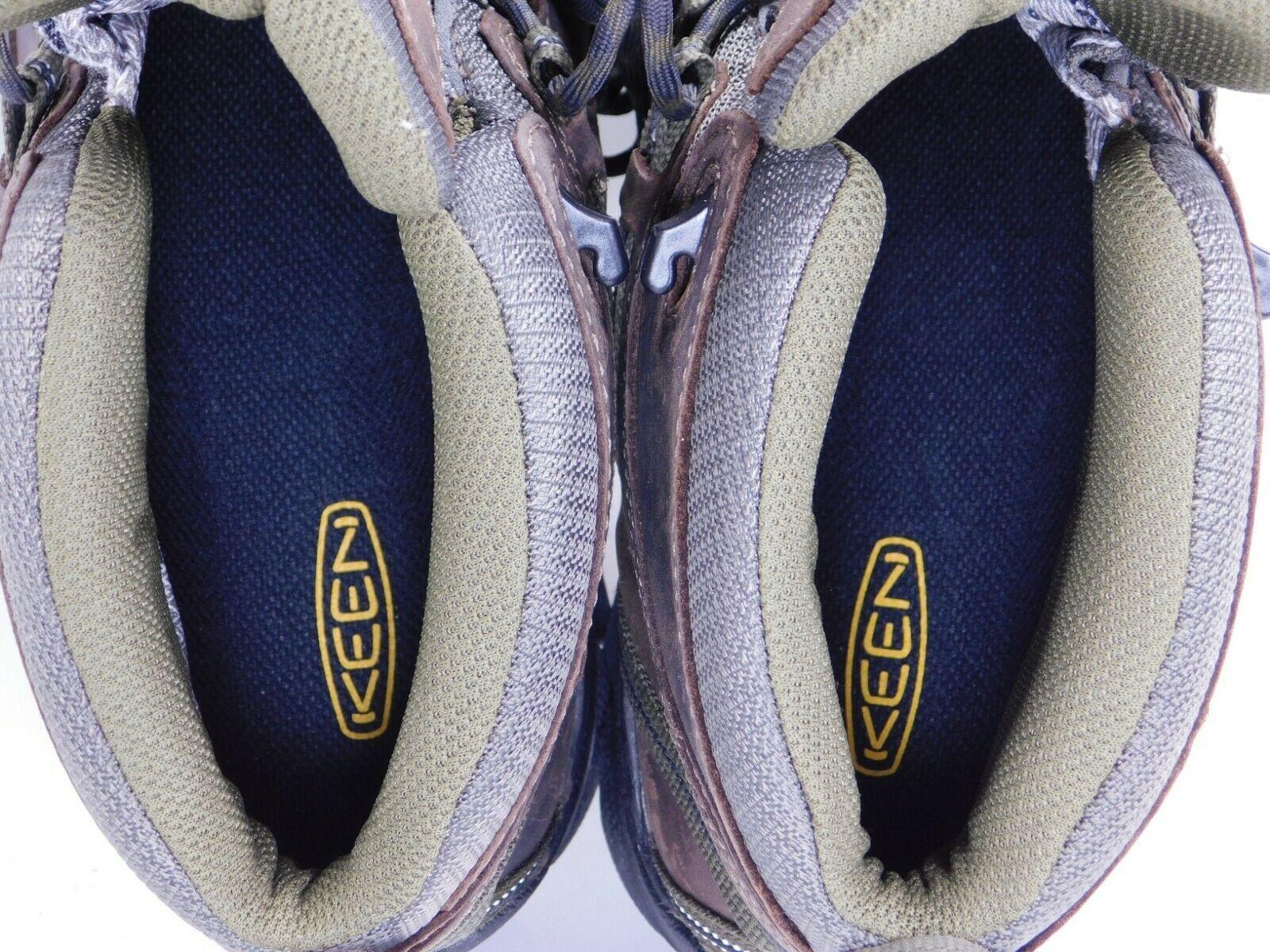 Keen Targhee II Mid Size 11 2E WIDE EU 44.5 Men's WP Trail Hiking Boots 1018118