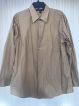Mens Shirt Size L(16.5 17 32/33) Croft&Barrow Long Sleeve Ships N 24h - $21.76