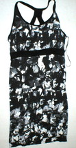 New Womens Dakini Dress Black Gray L White Bra Strap Tank Yoga Active La... - $45.00