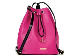 NWT Juicy Couture Designer Sling Backpack Travel Carry-on Bag - Fushcia ... - $1.029,95 MXN