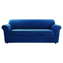 NEW Sure Fit Stretch Grand Marrakesh 2-Piece Sofa Slipcover, Nile Blue (... - $1.329,04 MXN
