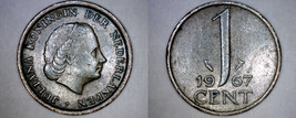 1967 Netherlands 1 Cent World Coin - $3.49