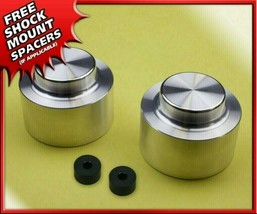 "Fits 02-09 Chevy Trailblazer 4X2 4X4 Silver Aluminum Spacers 2"" Rear Lift Kit - $50.00"