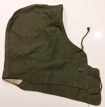 Original WWII U.S. Army Field Jacket Hood M-1943 OD-7 - $1.99
