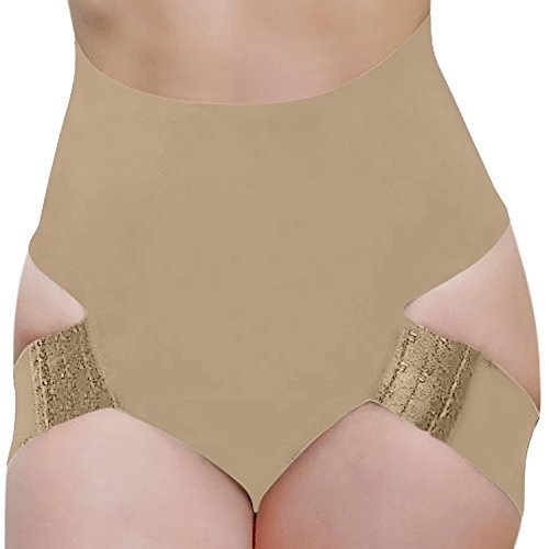 Fullness Butt Lifter Panties (XL, Beige)