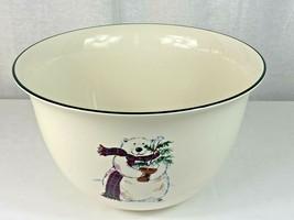 RARE Platzgraff Snowbear Large Serving Bowl - Excellent Condition !!! - $24.75