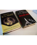 John Le Carre Mission Song Single Novel Hardback Thriller Ribbon Marker ... - $17.81