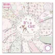"""First Edition Pad Papier 8""""x8"""" It's A Girl  - $21.81"""