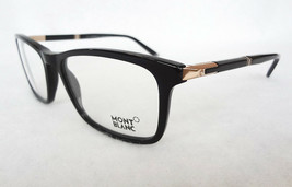 MONTBLANC Men's Optical Frames MB0540 58-18-145 Black MADE IN ITALY - New! - $199.95