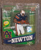2012 McFarlane NFL Cam Newton College Auburn Tigers Action Figure New In Package - $49.99