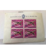 San Marino Planes s/s mnh 1964   stamps - $13.95