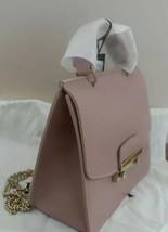 Furla 'julia' Mini Top Handle Saffiano Leather Rose Shoulder Bag Handbag Nwt - $189.00