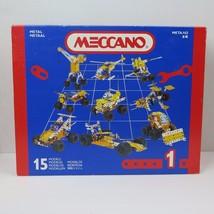 Meccano Set No.1 (030401) Makes 15 Models 100% Complete New - $19.59