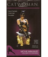 DC Catwoman Halle Berry Movie Mini-Bust Limited Edition Of 1500 Brand Ne... - $149.95