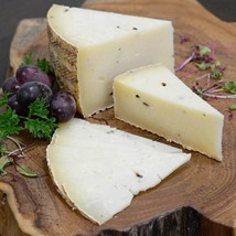 Sheep Milk Cheese with White Truffles - Aged 6 Months - 1 lb cut portion - $30.78