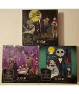 Disney Nightmare Before Christmas Jigsaw Puzzle Set of 3 Puzzles 300 Pcs... - $69.29