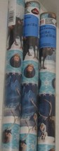 3 NEW Disney Frozen Blue Olaf Christmas Gift Wrapping Paper Rolls = 60sqft - $27.71