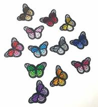 Monarch Butterfly Mini Small Embroidered Patch, Iron-On/Sew-On Applique ... - $9.90