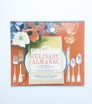 """Vintage 1972 Hallmark """"Culinary Almanac"""" Calendar"""