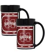 NCAA Mississippi State Bulldogs 2-Piece 15 Oz. Coffee Mug Set - $27.95