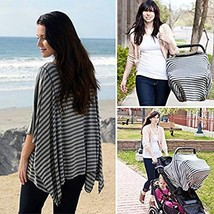 Fashionable Nursing Covers by DRIA - 'The All-In-One, Stroller Cover, Ca... - $58.30