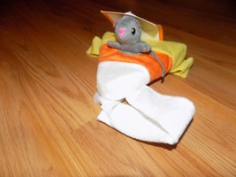 One Size Halloween Pet Costume Mouse Rider on Candy Corn Small Dog or Ca... - $10.00