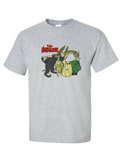 The Herculoids T-shirt gray logo Saturday Morning Cartoons retro free shipping image 2