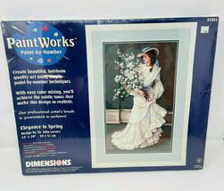 Vintage Paint Works Paint By Number Dimensions Kit 91083 Elegance In Spring - $44.99