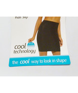 Better U Womens Smoothing Half Slip Black Cool ... - $9.49