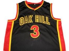Brandon Jennings #3 Oak Hill High School Basketball Jersey Black Any Size image 4