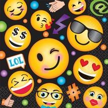 LOL Emoji Emoticons Cute Kids Birthday Party Paper Luncheon Napkins - $7.17