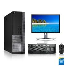 Dell Computer 3.3 G Hz Pc 8GB Ram 250 Gb Hdd Windows 10 - $251.94