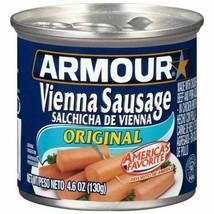 20 Cans Armour Vienna Sausage Original 4.6oz ~ FAST FREE EXPEDITED SHIPP... - $27.60