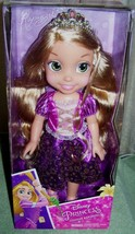 "Disney Princess Toddler RAPUNZEL 13.5"" Doll New - $22.88"